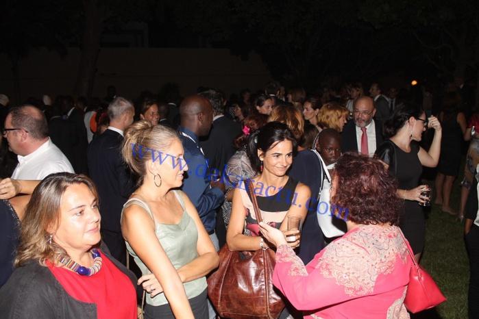 Les images du cocktail à l'Ambassade d'Espagne lors de la célébration de leur fête d'indépendance