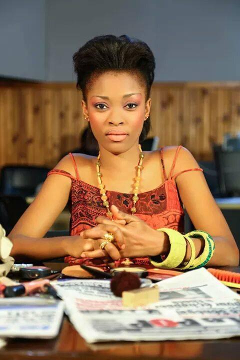 Cécilia Soumah de la revue express sur la 2STV