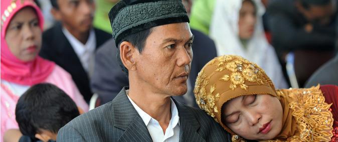 Pour 65 euros, des Indonésiens pourront épouser une seconde femme