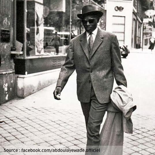 Le président Abdoulaye Wade dans les années 60