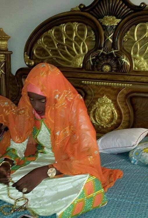Diama Diagne Diouf la nouvelle femme du ministre conseiller Arona Coumba N'doffene Diouf