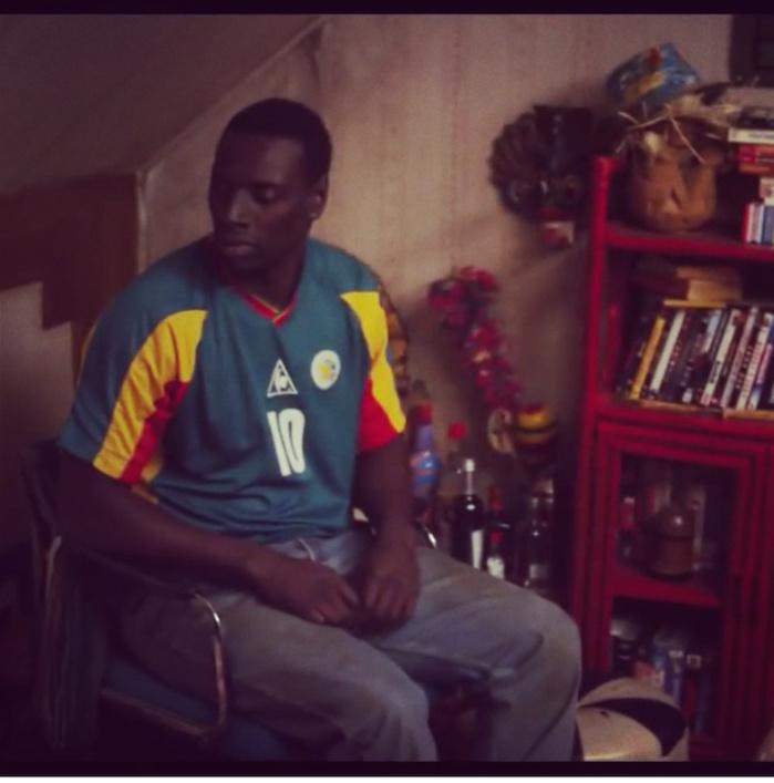 """Omar Sy : """"Fadiga, c'est un bel hommage, parce que c'est un joueur que j'aimais beaucoup"""""""