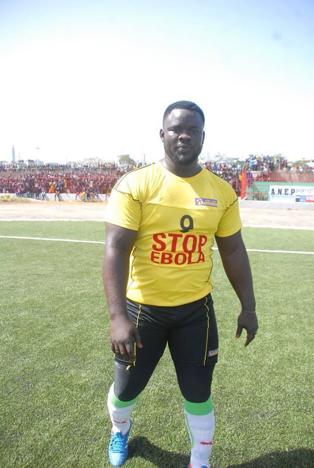 Les images du match D-Média contre les lutteurs au stade Amadou Barry