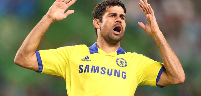 CHELSEA : Diego Costa forfait
