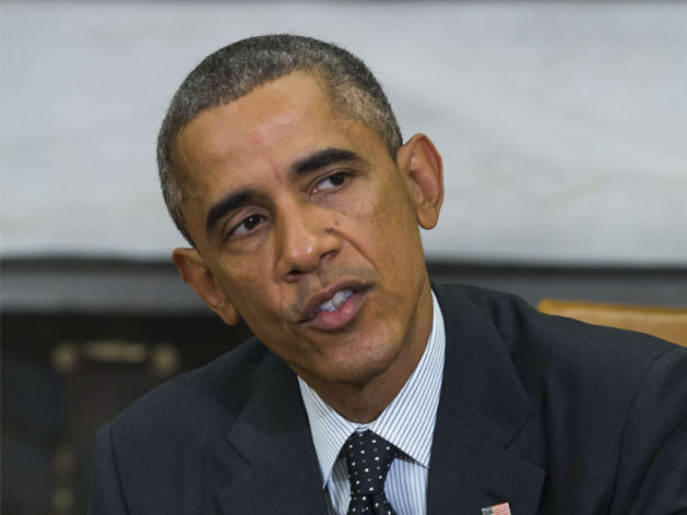 """Un homme """"jaloux"""" demande à Obama de ne pas toucher sa femme"""