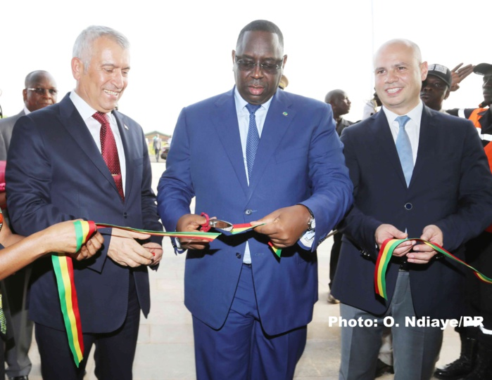 Les images de la CEREMONIE DE RECEPTION OFFICIELLE DU CENTRE INTERNATIONAL DE CONFERENCES DE DAKAR