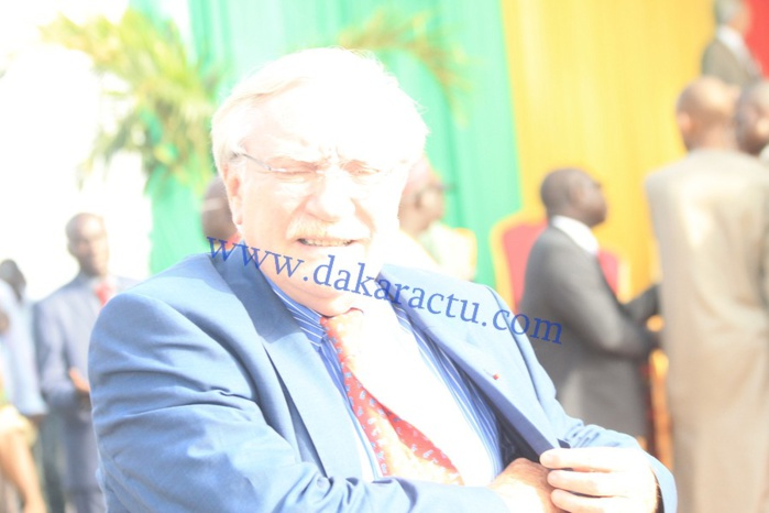 CICD : l'Ambassadeur de France au Sénégal, Jean Félix Paganon, à Diamniadio