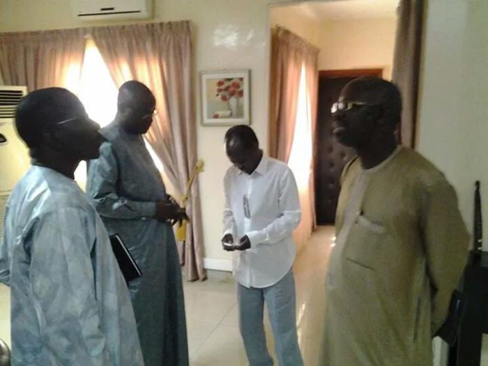 Le ministre des sports Matar Ba reçoit DIagna Ndiaye