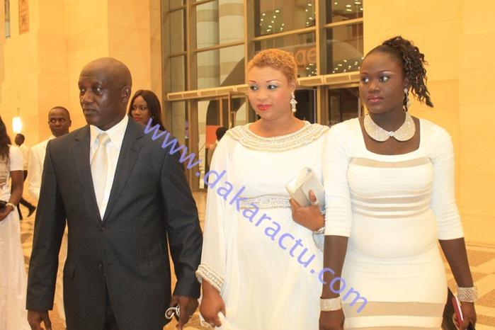 L'ancien ministre et porte-parole de Wade, Serigne Mbacké Ndiaye était aussi au Grand Théâtre avec son épouse