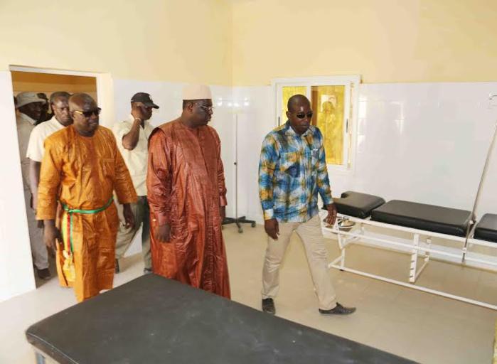 Les images de l'inauguration du poste de santé de Galoya