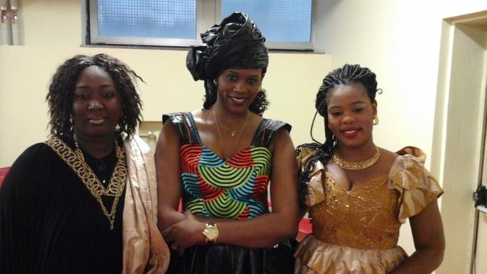 Les images de la cérémonie de départ du Consul du Sénégal à Milan Moukhtar Kouyaté et des agents Mme Wade et N'gouda Kane