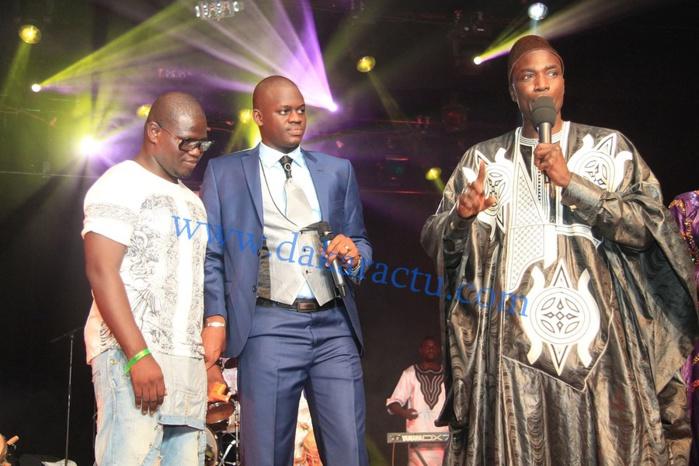 Makhtar Diop, Directeur du label Soubatel en compagnie de Omaro bou Cheikh Béthio