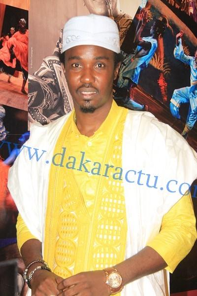 L'animateur de la radio Zik Fm, Cheikh Sarr au Théâtre national Daniel Sorano
