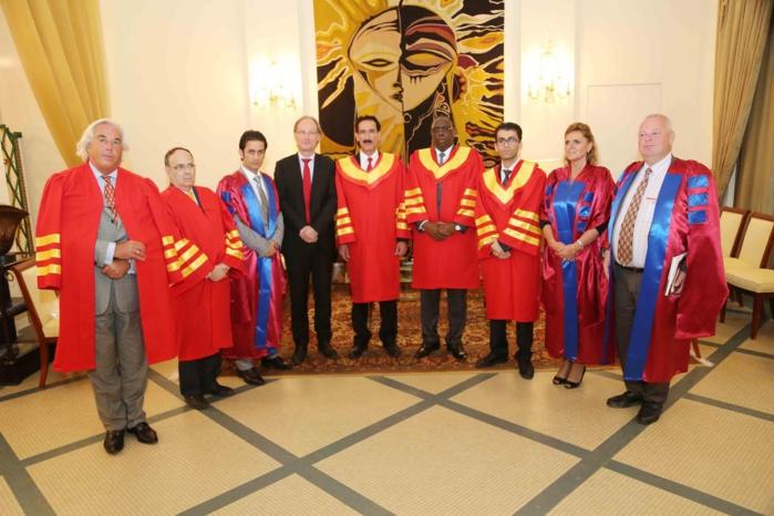 Swiss Umef University élève le Président Macky Sall au grade de Docteur Honoris Causa