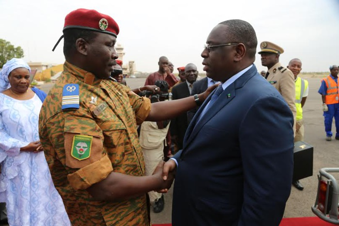 Les images de la réunion de haut niveau de la CEDEAO sur le Burkina Faso