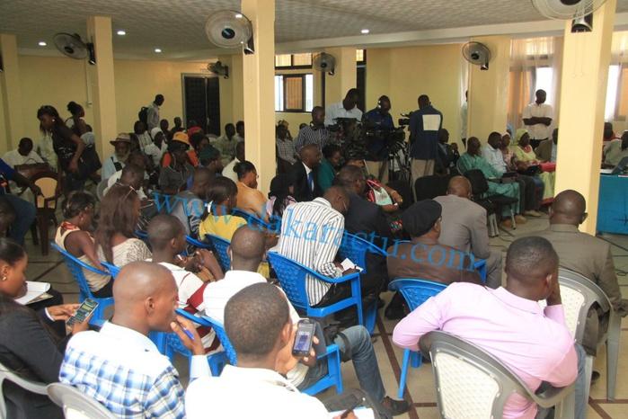 Les images de la cérémonie de réception des travaux du projet ( Campus Wifi )