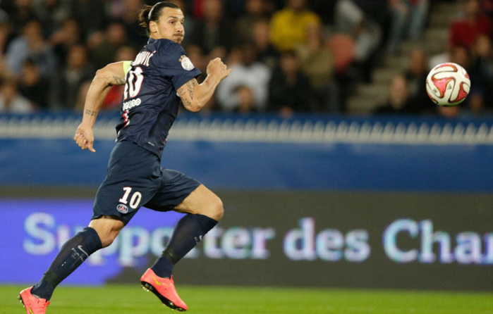 PSG-OM : Zlatan Ibrahimovic est de retour à l'entraînement