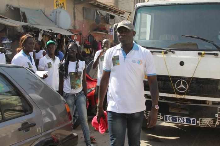 Les images de la caravane de Gorgui N'diaye à Rufisque