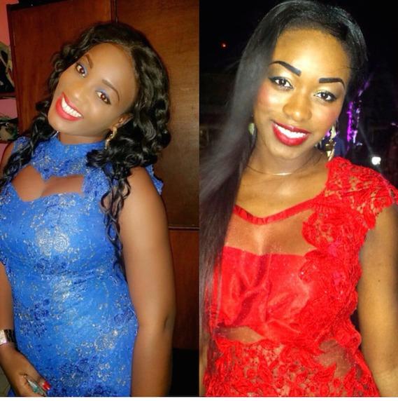 L'animatrice de la TFM Khady Ndiaye Bijou et sa copine Zahra habillées par Bessel Basse