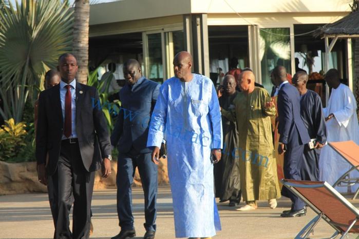 Thierno Lo rejoint l'APR, les images de la réunion avec le SN de l'APR