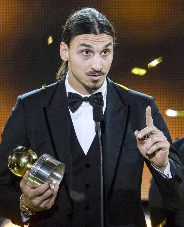 L'émotion de Zlatan Ibrahimovic