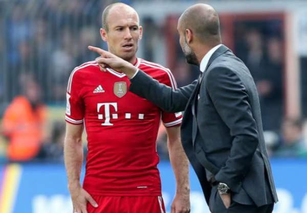 "Robben : Guardiola est un ""malade""..."