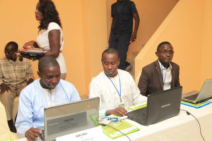Les images de l'atelier Régional sur la Régulation et Modèle Economique (un statut clair pour un devenir meilleur de la presse en ligne)