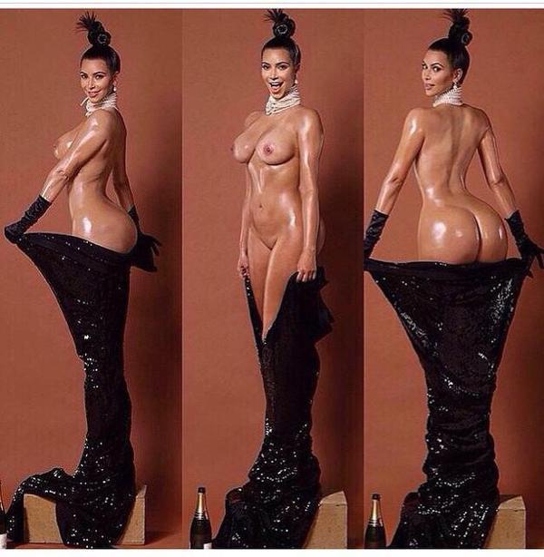 """Les photos nues de Kim Kardashian pour """"Paper Magazine"""" font le buzz sur internet"""