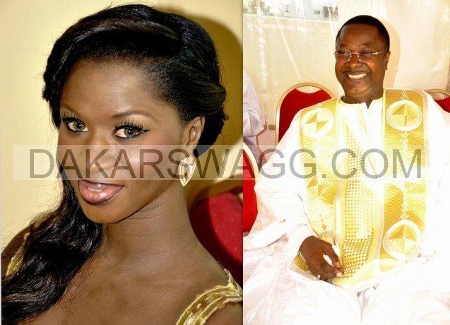 Le fils aîné du Président Abdou Diouf , Cheikh Makhtar Pierre Diouf « Pédro » donne sa nièce, Marième Fall en mariage
