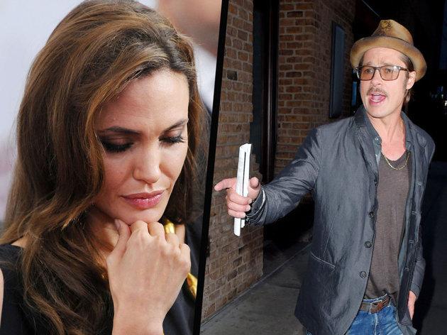 Brad Pitt furieux qu'Angie revoit son ex !