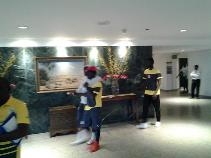 """Promenade et détente des """"Lions"""", ce samedi 15 juin 2014 à l'hôtel Fairmont HELIOPOLIS & TOWERS du Caire , avant le déjeûner."""