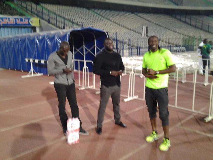 """Les anciens internationaux Lamine Diatta et Alassane Ndour toujours derrière les """"lions"""" pour les soutenir"""