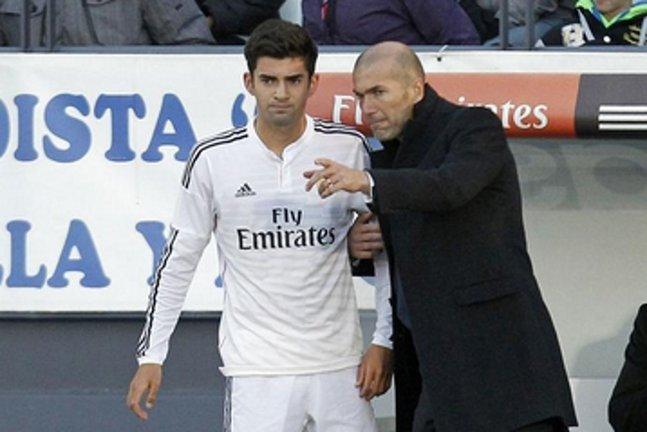 Quand Zizou lance Enzo Zidane