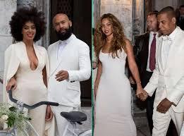 Beyoncé au mariage de sa sœur Solange