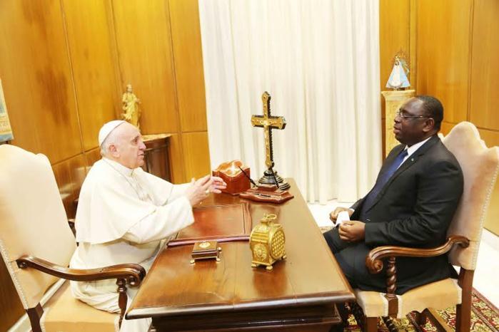 VATICAN : Le président de la République Macky Sall reçu en audience par le Pape François