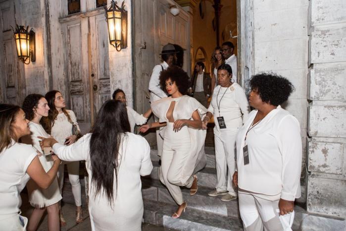 Les images du mariage de Solange Knowles, soeur de Boyoncé