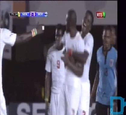Vidéo: Sénégal – Botswana(3-0) but du Sénégal (Moussa Sow)
