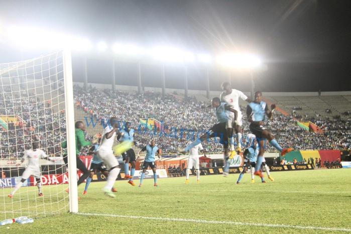 Les images du match Sénégal vs Bostwana au Stade Léopold Sédar Senghor
