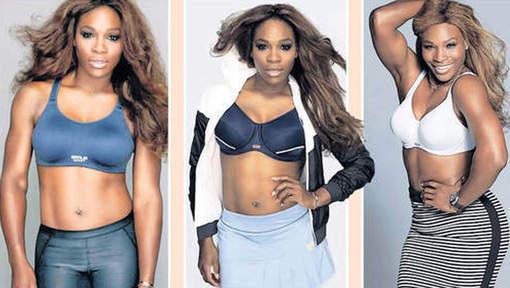 """Serena Williams: """"J'ai appris à être fière de mes formes"""""""