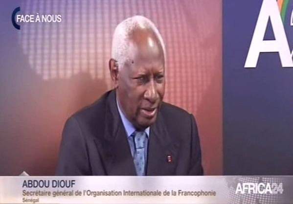 Emission Face à Nous avec Abdou Diouf