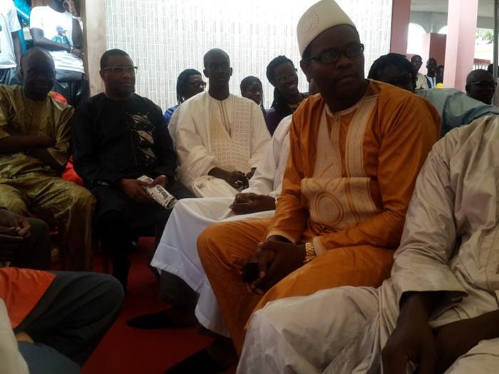 Les images du baptême de Seydina Mohamed Diouf, fils du chanteur Pape Diouf