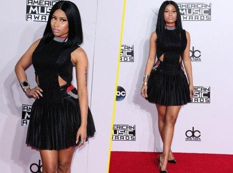 AMA's 2014 : Nicki Minaj, une beauté sage et discrète sur le redcarpet !