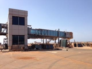 Les images de l'état d'avancement des travaux de l'aéroport Blaise Diagne de Diass