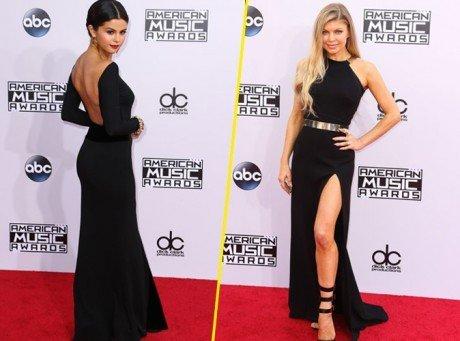 AMA's 2014 : Selena Gomez vs Fergie / Jeune fille en pleurs pour Justin Bieber vs femme fatale !