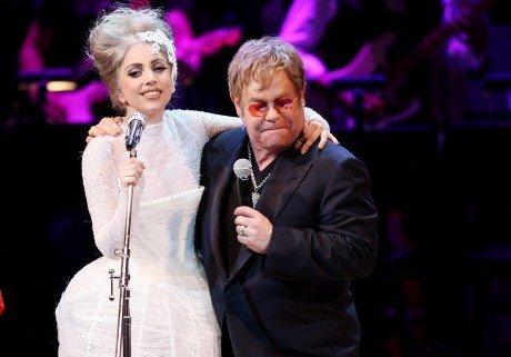 "Lady Gaga : "" Elton John m'a sauvée """