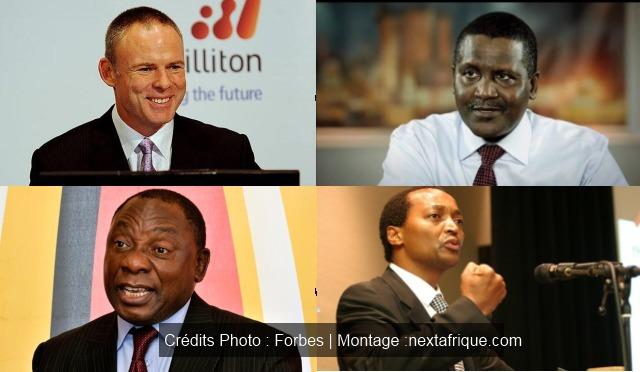 Liste Forbes : Les 50 plus grandes fortunes d'Afrique en 2014