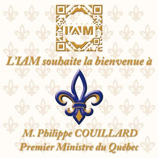 IAM reçoit le Premier ministre du Québec