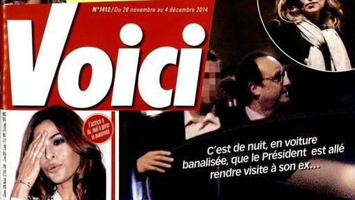 Hollande surpris chez Valérie Trierweiler en pleine nuit