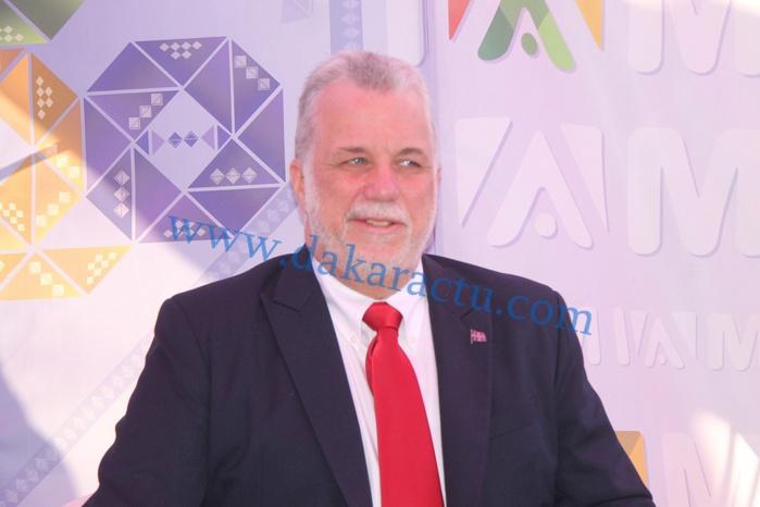 Inauguration du pavillon Québec de l'Institut Africain de Management (IAM) par M. Philippe Couillard premier ministre du Québec