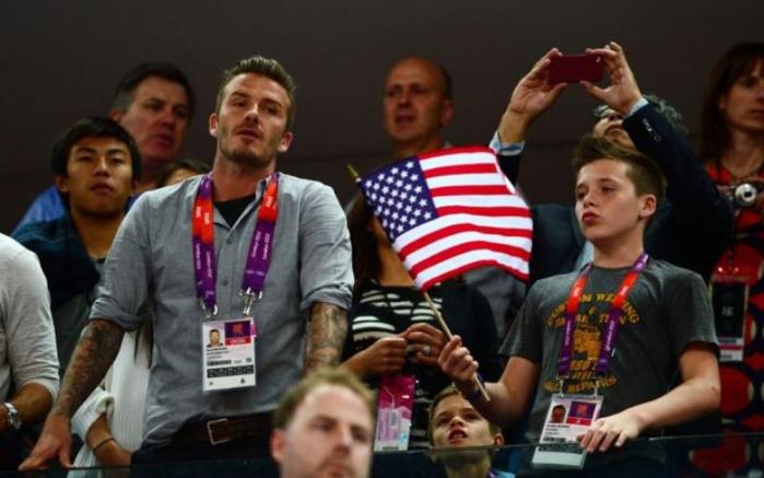 David Beckham indemne après un accident de voiture avec son fils